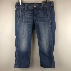 True Religion Crop Jeans Sz 31